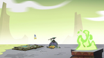 S2E35 Ludo's magic blast sets the apple on fire