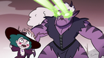 S3E36 Eclipsa watching Meteora attack Moon