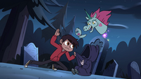 S4E19 Pony takes picture of Marco's cool pose