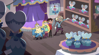 S4E1 Star and company in merchant's shop