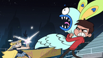S1E4 Marco and Star double-team a monster moth
