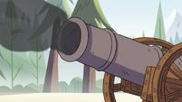 S2E10 Cannon firing a cannonball