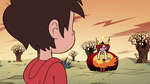 S2E31 Hekapoo stands a distance away from Marco