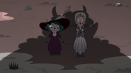 S3E36 Moon and Eclipsa look up at Meteora