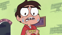 S4E13 Marco nervous by Tom's presence