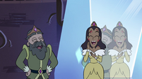 S4E10 King and Queen Spiderbite laugh at Globgor