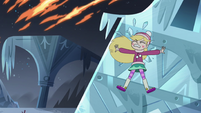 S4E5 Star flies backward into an ice wall
