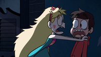 S1E6 Marco freaked out by Star