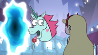 S1e2 pony head thinks of a lie