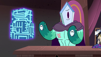 S3E29 Rhombulus doesn't have any fingers
