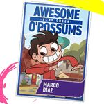 Marco Diaz mock baseball card