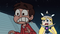 S1E4 Marco and Star freaking out
