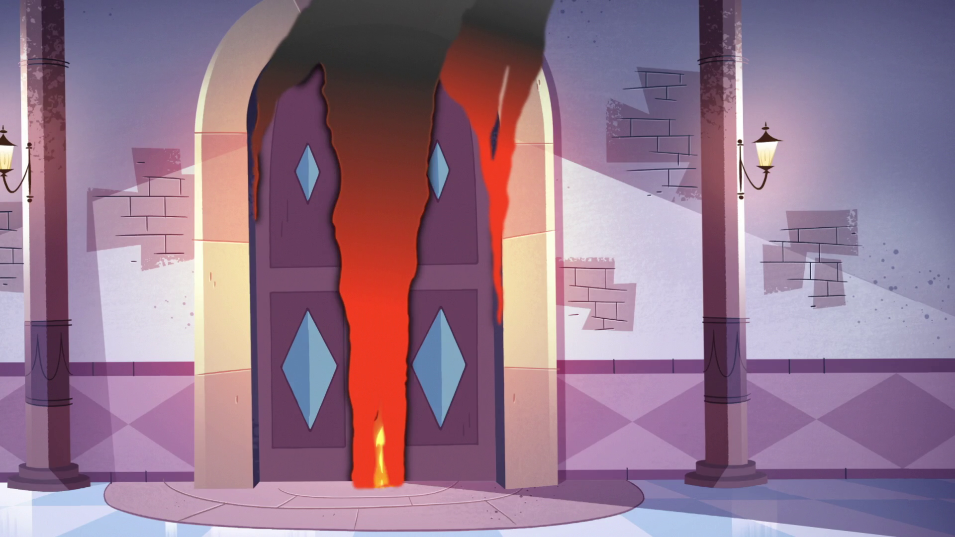 S3E10 The ballroom doors burn.png & Image - S3E10 The ballroom doors burn.png | Star vs. the Forces of ...