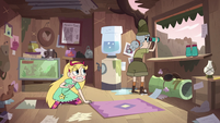 S3E17 Star and Jelly in Jelly's field research lab