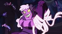 S3E38 Meteora with ribbon lassos around her arms