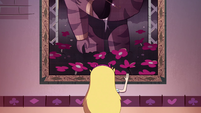 S4E36 Star Butterfly waves to Eclipsa's tapestry