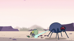 S2E8 Giant spider grabs Ludo with web