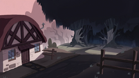 Diaz Family Vacation background - Outside Forest of Death