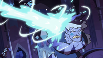 S3E38 Meteora gets blasted with frigid magic