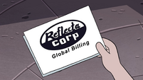S4E19 Reflectacorp bill for Star Butterfly