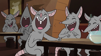 S2E8 Bar rats laughing at Ludo