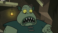 S2E20 Buff Frog surprised to see Ludo alive
