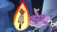 S3E10 Star Butterfly confronts Tom in the air