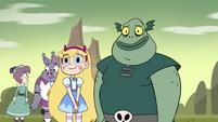 S4E16 Star and Buff Frog happy for Katrina