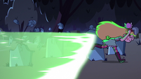 S2E27 Star runs away from Ludo's magic beam