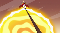 S3E22 Hekapoo still struggling to hold up the seabunny ship