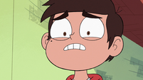 S3E23 Marco looking nervously at the wand