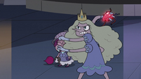 S3E33 Princess Arms tossing the bomb away