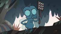 S2E12 Boo Fly wielding a spiked fly swatter