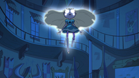 S2E1 Star Butterfly floating in the air