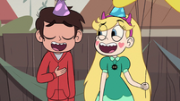 S2E29 Star and Marco laughing together