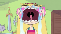 S2E33 Star Butterfly's cheek hearts pop like balloons