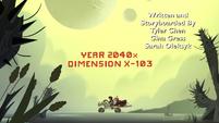 S3E22 Marco and Hekapoo ride through Dimension X-103