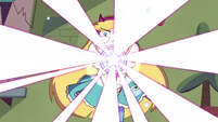 S3E37 Bright light bursting out of Star's wand