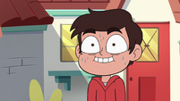 S4E29 Marco Diaz nervously sweating