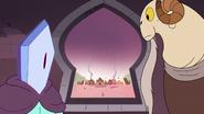 S3E2 Rhombulus i Lekmet patrzą przez okno