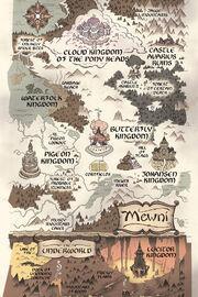 Mapa Mewni