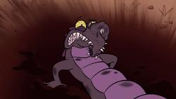 Potwór krokodyl ID