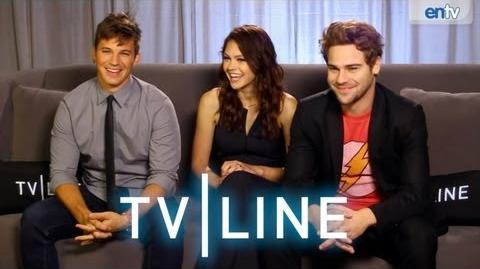 """Star-Crossed"" Stars Interview - Comic-Con 2013 - TVLine"