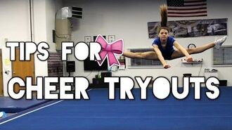 How to make your Cheer Team Tryout Tips