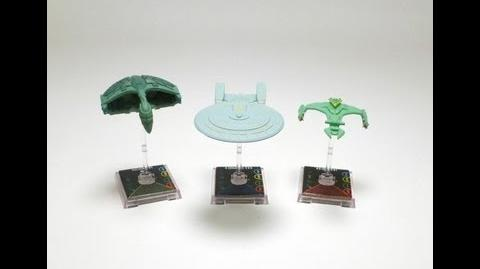 "Game On - Star Trek Attack Wing ""Vor'Cha Class"" Ship"