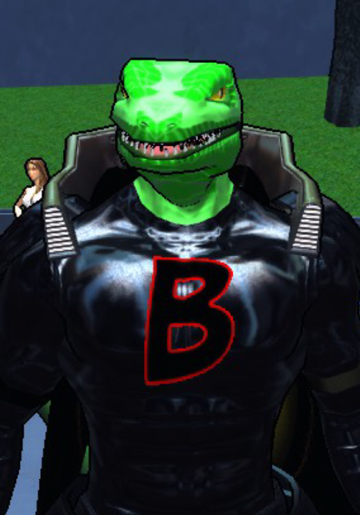 Beastie, armored