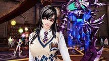 Wraithra in her School Uniform