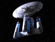 USS Enterprise-D, anti-time future