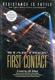 ST8 First Contact novel
