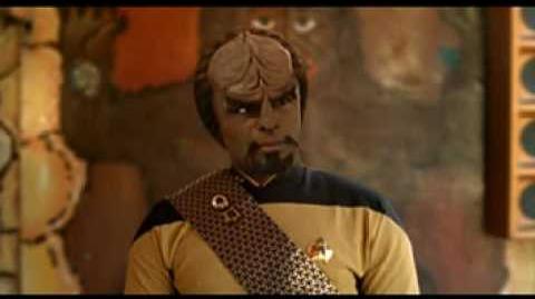 """Star Trek"" commercial (SciFi) - Part 1 Worf"